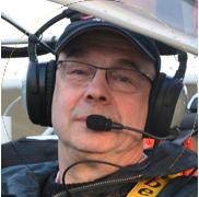Patrick Vintrin - Votre pilote et votre guide, tout au long de votre balade en ULM au-dessus de la baie du Mont St Michel.